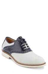 G.H. Bass Men's And Co. Noah Saddle Shoe Oyster Navy