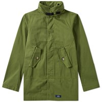 Bleu De Paname Fatigue Jacket Green