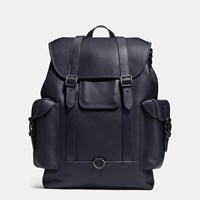 Coach Gotham Backpack In Glovetanned Leather Bp Navy