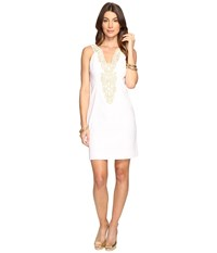 Lilly Pulitzer Suzette Shift Resort White Women's Dress