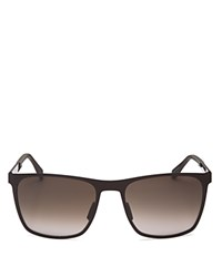 Hugo Boss Square Metal Gradient Sunglasses
