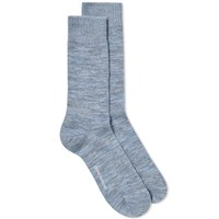 Oliver Spencer Miller Sock Blue