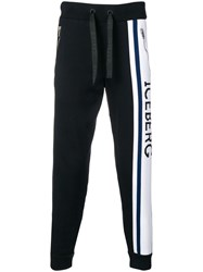 Iceberg Branded Track Trousers Blue