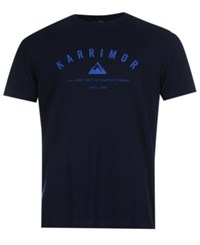 Karrimor Organic Graphic Tee From Eastern Mountain Sports Denim Blue