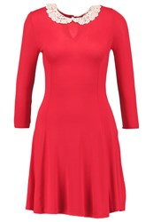 New Look Jersey Dress Bright Red