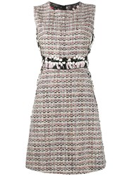 Giambattista Valli Tweed Shift Dress Multicolour