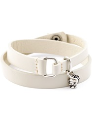 Diesel Double Wrap Bracelet White