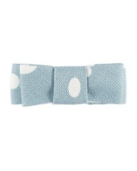 Pili Carrera Girls' Polka Dot Cotton Hair Clip Blue