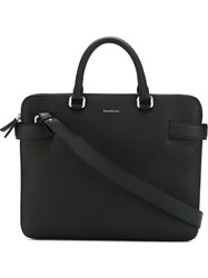 Z Zegna Laptop Bag Black