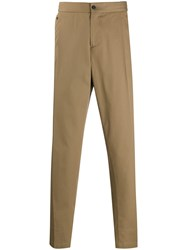 Salvatore Ferragamo Tapered Trousers Neutrals