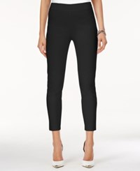 Guess Shaine Cropped Pants Jet Black