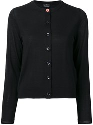 Paul Smith Ps Slim Fit Cardigan Black