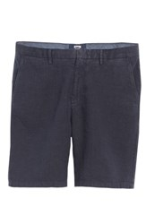 Vilebrequin Big And Tall Panama Linen And Cotton Chino Shorts Squid Ink