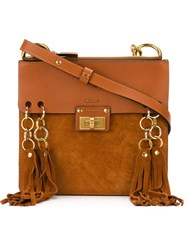 Chloe Small 'Jane' Cross Body Bag Brown