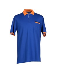 Kiton Topwear Polo Shirts Men Blue