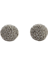 Elise Dray 'Mini Muse' Earrings Grey