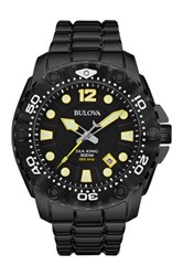Bulova Men's Sea King Sport Bracelet Watch Black