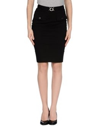 Mcq By Alexander Mcqueen Mcq Alexander Mcqueen Knee Length Skirts Black