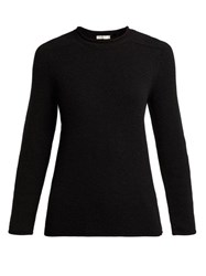 The Row Rickie Cashmere Sweater Black