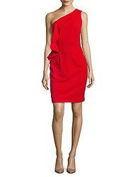 Js Collections One Shoulder Dress Red