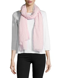 Lord And Taylor Glitter Wrap Scarf Pink Mist