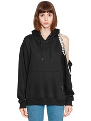 Forte Couture Hooded Cindy Sweatshirt Black