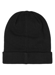 Selected Homme Black Beanie Hat