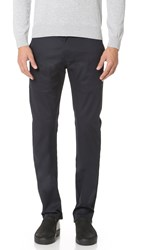 Naked And Famous Slim Stretch Twill Chino Pants Navy