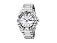 Citizen Aw0031 52A Eco Drive Htm Silver Tone Stainless Steel Dress Watches Bronze