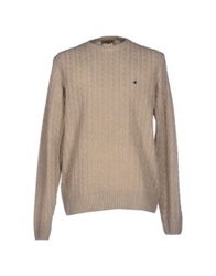 Brooksfield Royal Blue Sweaters Beige