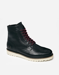 Fred Perry Northgate Brogue Boots Black