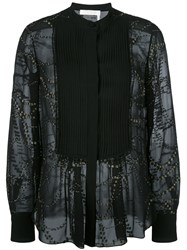 Chloe Starry Sky Blouse Black