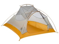Big Agnes Fly Creek Ultralight Tent 3 Person Silver Gold Outdoor Sports Equipment