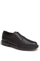 Dunham 'Jackson' Cap Toe Derby Black Waterproof