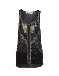 Elisabetta Franchi Gold Topwear Tops Women Black