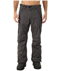 686 Authentic Smarty Cargo Pants Gunmetal Pincord Men's Casual Pants Brown