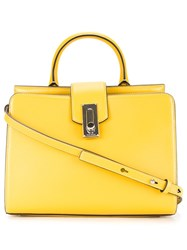 Marc Jacobs Small 'West End' Tote Yellow And Orange