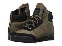 Adidas Jake Boot 2.0 Olive Cargo Core Black Clear Brown Men's Lace Up Boots