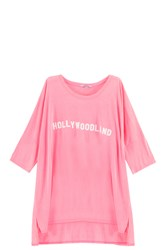 Wildfox Couture Hollywoodland T Shirt Pink