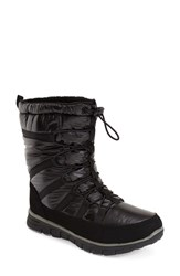 Women's Khombu 'Diamond' Waterproof Snow Boot Black
