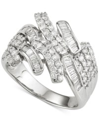 Wrapped In Love Diamond Ring 1 Ct. T.W. In 14K White Gold No Color