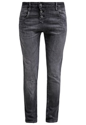 Mavi Jeans Mavi Mira Relaxed Fit Jeans Black Grey Denim
