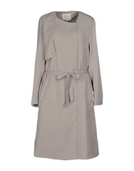 Selected Femme Coats And Jackets Full Length Jackets Women Light Grey