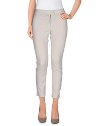 Pamela Henson Trousers 3 4 Length Trousers Women Light Grey