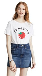 South Parade Pomodoro Tee White
