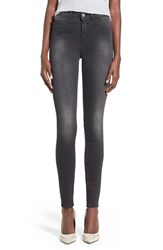 Women's Mih Jeans High Rise Skinny Jeans Wick