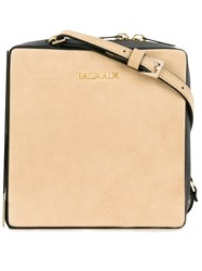 Balmain Pablito Shoulder Bag Nude Neutrals