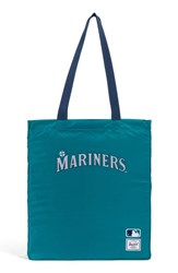 Herschel Supply Co. Packable Mlb American League Tote Bag Blue Seattle Mariners