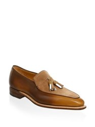 Corthay Dover Tassel Loafers Brown