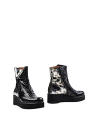 Ras Ankle Boots Black
